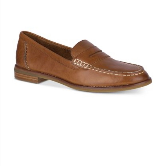 Sperry seaport penny loafers!